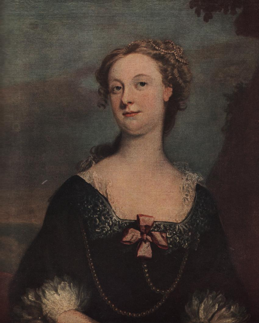 Mary Rossam by Joseph Highmore