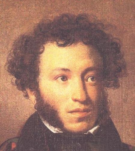 Portrait of Pushkin
